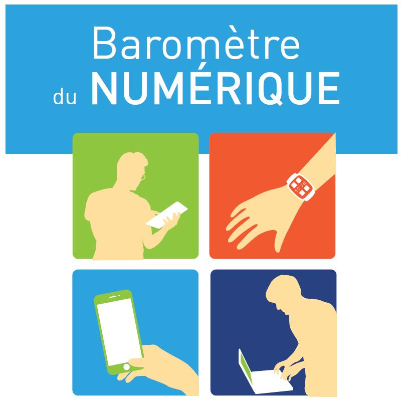 Illusatration Le baromètre du numérique 2015