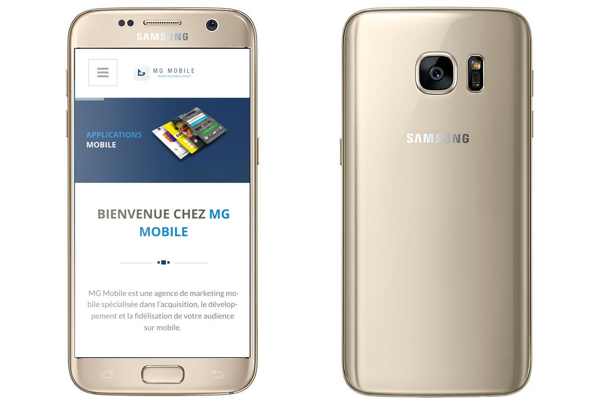 Le meilleur smartphone au monde : Samsung Galaxy S7