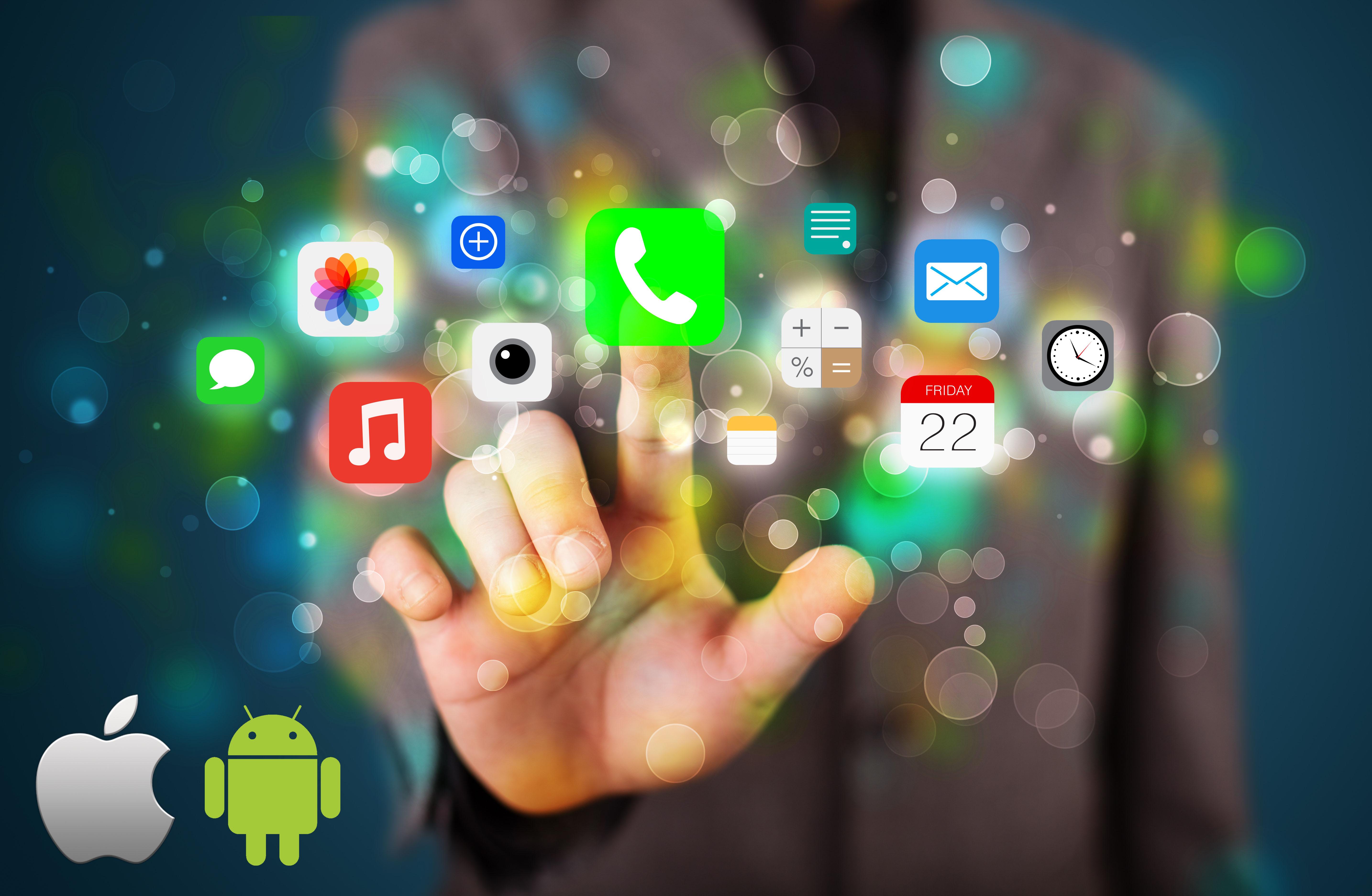Les Applications mobiles, bataille entre Android et IOS
