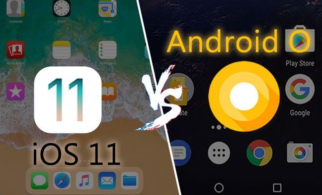 Illusatration iOS 11 et Android Oreo : les nouveautés