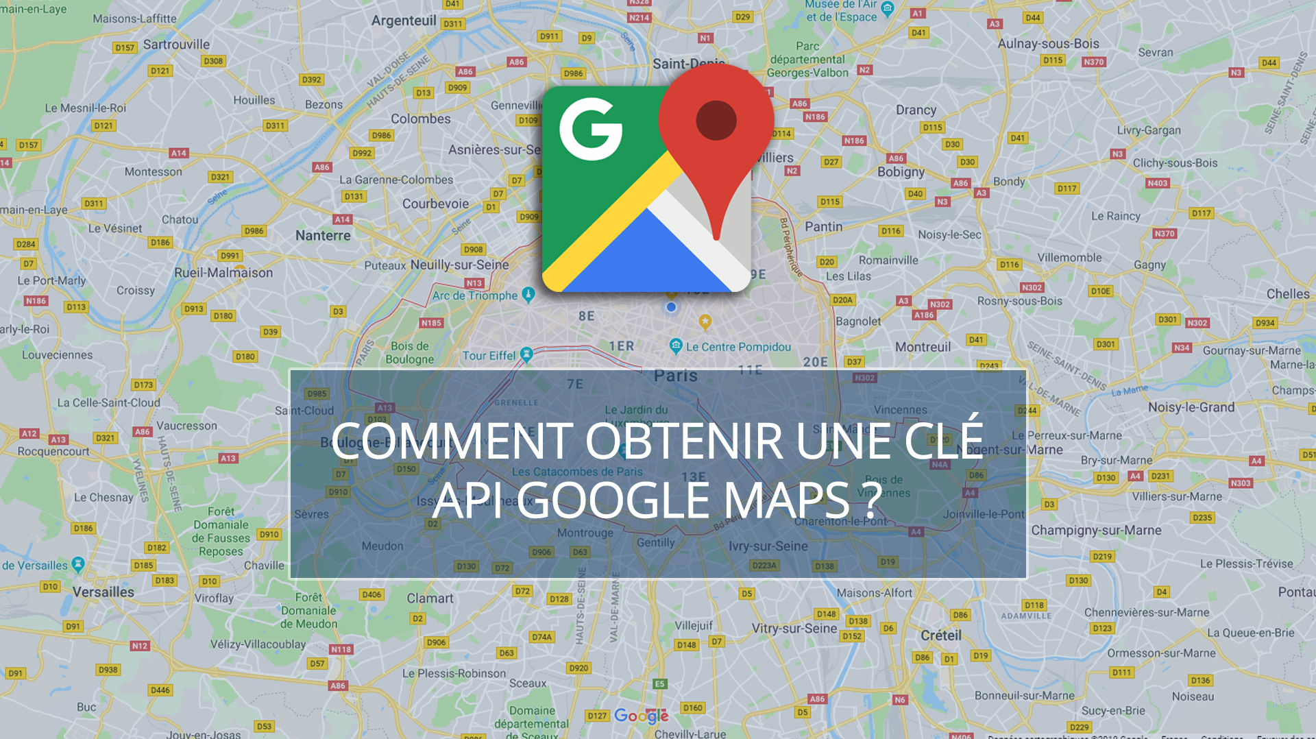 Illusatration Comment obtenir une clé API Google Maps ?