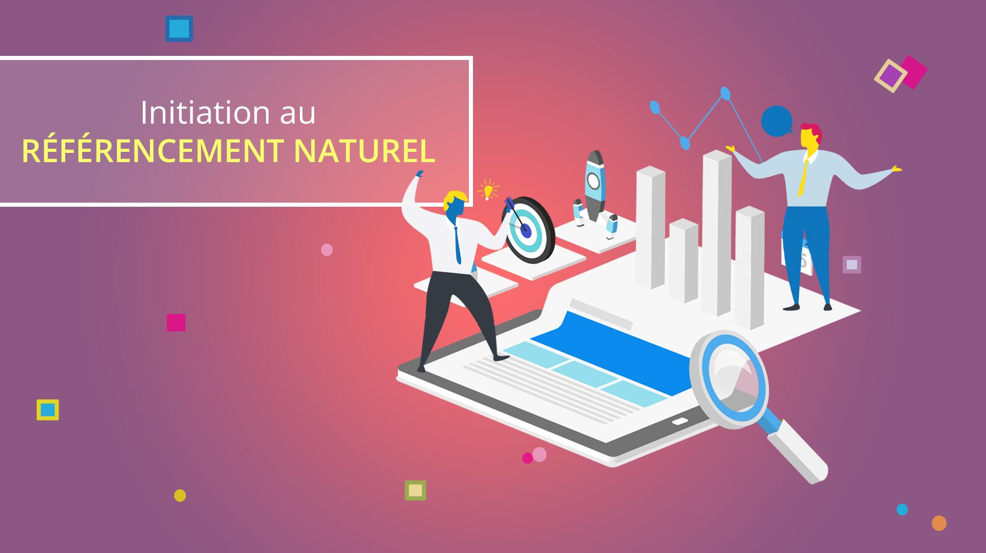 Illusatration Initiation au référencement naturel sur Google – PARIS